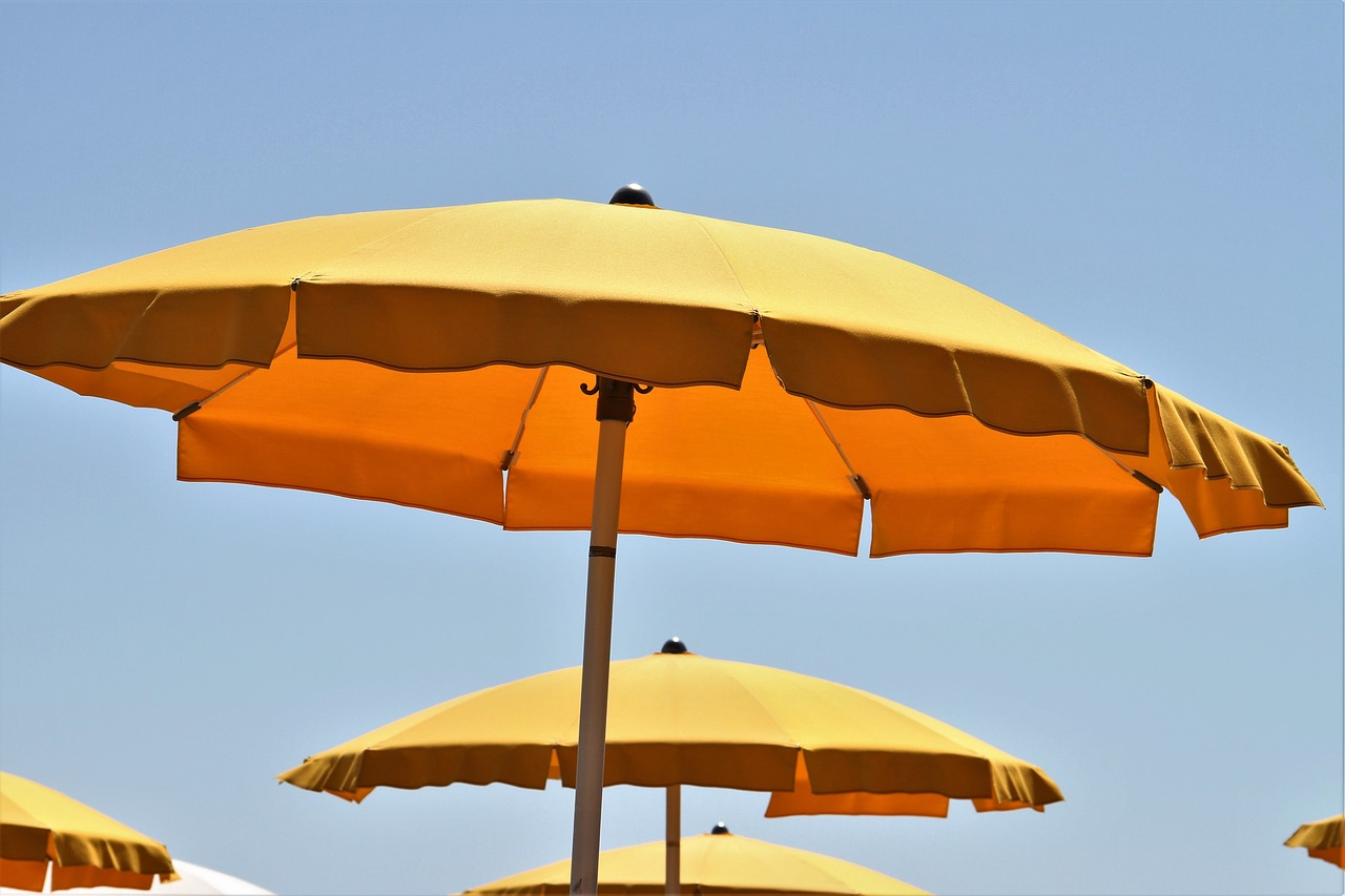 Horeca parasols super fijn in de zomer